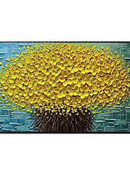 cheap -100% Hand Painted Contemporary Art Oil Paintings on Canvas Modern Stretched and Framed Abstract 3D Flower Artwork Ready to Hang
