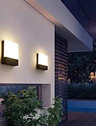 cheap -16cm Waterproof Outdoor Wall Lights Modern Basic Outdoor Acrylic Wall Light 110-120V 220-240V 10 W