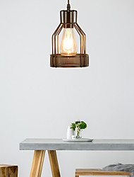 cheap -1-Light 14.5 cm Mini Style Pendant Light Hemp Rope Painted Finishes Traditional / Classic / Nordic Style 220-240V