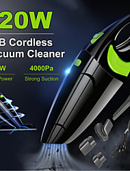 cheap -6500Pa Powerful Wireless Car Vacuum Cleaner Portable Handheld 120W USB Cordless Wet&Dry Use Rechargeable Home Car Vacuum Cleaner