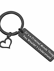 cheap -criminal minds inspired gift it's a criminal minds thing you wouldn't understand keychain criminal minds fans gift (black keychain)