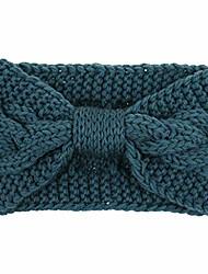 cheap -women fashion keep warm knitting headband handmade sport hairband