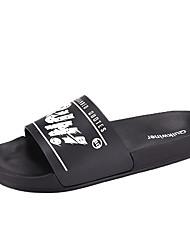 cheap -Men's Slippers & Flip-Flops Daily EVA(ethylene-vinyl acetate copolymer) Black / White Black Red Spring Summer
