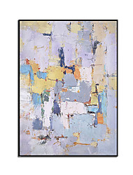 cheap -100% Hand-Painted Contemporary Art Oil Painting On Canvas Modern Paintings Home Interior Decor Abstract Art Landscape Painting Large Canvas Art(Rolled Canvas without Frame)