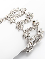 cheap -Women's Bracelet Classic Blessed Stylish Rhinestone Bracelet Jewelry Silver For Wedding Daily