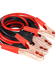 cheap -2M 500AMP Car Battery Jump Cable Booster Cable Emergency Jump Starter Leads for Van SUV Double-ended With Clamps Clips