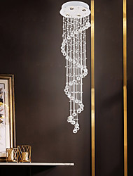cheap -4-Light 35 cm Crystal / Creative Chandelier Metal Crystal / Linear Electroplated Artistic / Modern 110-120V / 220-240V
