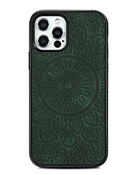 cheap -Phone Case For Apple Back Cover iPhone 12 Pro Max 11 Pro Max Shockproof Magnetic Solid Color TPU