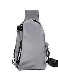 cheap -Unisex Bags Crossbody Bag 2021 Daily Black Gray