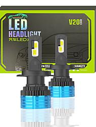 cheap -OTOLAMPARA 2PCS 70W CAN-bus LED Headlight Kit Special for Ford Fiesta Focus Escape Explor/ KIA Sportage Optima K2 K3 K5/ Toyota Camry Corolla Prius Highlander/ Volkswagen Golf Polo Tiguan