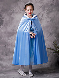 cheap -Princess Cosplay Costume Costume Girls' Movie Cosplay Euramerican Purple / Blue / Pink Cloak Christmas Halloween Carnival Polyester / Cotton Cotton