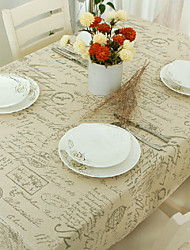 cheap -Table Cloth Dust-Proof Classic Printing Table Cover ,Stain Proof,Water Resistant Washable Table,Decorative Oblong Table Cover for Kitchen,Holiday