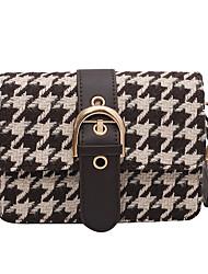 cheap -Women's Bags Crossbody Bag Date Office & Career 2021 MessengerBag Black Beige Coffee