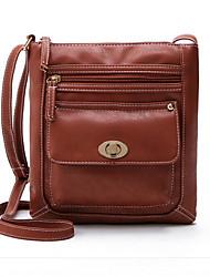 cheap -women pu leather crossbody bag shoulder bag