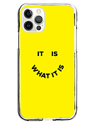 cheap -phrase fashion case for apple iphone 12 11 se2020 unique design it is what it is protective case shockproof back cover tpu instagram style case