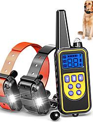 cheap -Dog Bark Collar Dog Training Collars Anti Bark Training Solid Colored Plastic & Metal ABS Corgi Beagle Shiba Inu Pug Bichon Frise Pekingese Black Yellow Orange