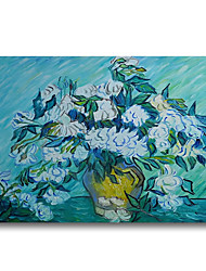 cheap -Oil Paintings on Canvas 100% Hand Painted Contemporary Art Modern Stretched and Framed Abstract Van Gogh Artwork Ready to Hang