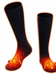 cheap -Heated Socks for Women Men, Rechargeable Electric Socks Heated Socks Foot Warmer for Chronically Cold Foot, Great for Skiing Hiking Motorcycling Warm Winter Socks