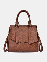 cheap -women solid pu leather handbag crossbody bag shoulder bag