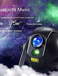 cheap -Remote Control with Bluetooth Music Speaker Laser Light Projector Rotating LED Projector Multi Color Wedding Party Gift Projector Light