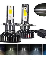 cheap -YHKOMS 80W 14000LM Car Haedlight H4 H7 H1 LED H8 H9 H11 4300K 5000K 6500K 8000K 25000K Auto fog Light 80W 16000LM 12V LED Bulb