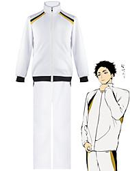 preiswerte -Inspiriert von Haikyuu Cosplay Anime Cosplay Kostüme Japanisch Cosplay-Anzüge Schuluniformen Mantel Hosen Für Herren