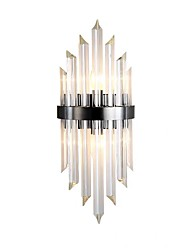 cheap -Crystal Modern Wall Lamps Wall Sconces Bedroom Kids Room Steel Wall Light 110-120V 220-240V 5 W