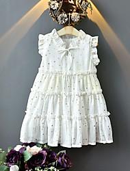 cheap -ins cross-border children's clothing girls summer new children's dresses korean sleeveless bronzing baby girl princess dress