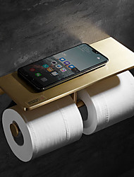 cheap -Bathroom Shelf New Design Contemporary / Modern Brass 1pc - Bathroom