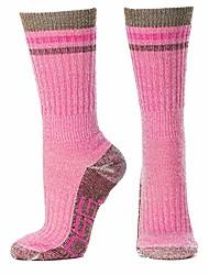 cheap -Women's Mid Weight Merino Wool Sock (Pink)