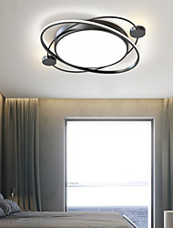 cheap -50 cm Dimmable Flush Mount Lights Metal Painted Finishes Modern Nordic Style 110-120V 220-240V