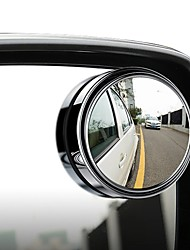 cheap -Oukoo Car Vehicle Blind Spot Mirror Rear View Mirrors HD Convex Glass 360 Degree View Adjustable Mirror