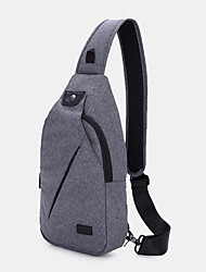 cheap -men casual chest bag sports bag shoulder bag crossbody bag