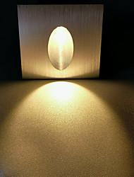 cheap -LED Modern Basic LED Wall Lights Living Room Dining Room Aluminum Wall Light IP44 90-264V 3 W Opening Size 56mm