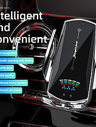 cheap -Wireless Car Charger Qi Charging Automatic Clamping Car Phone Holder Air Vent Combo Phone Mount With Air Purifier Fast Charge Mount for Iphone 12 XR XS MAX Samsung Huawei Nokia LG