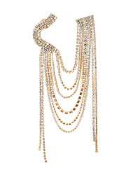 cheap -Chain Link Brooch Gold Silver