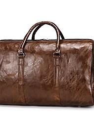 cheap -men women leather duffel bags waterproof large capacity folding sports travel bag fitness yoga gym handbag