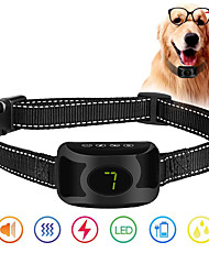 cheap -Anti Bark Collar Rechargeable Rainproof No Bark Training Collar Beep Vibration Shock Modes Anti Barking Collar Stop Pet Product