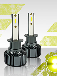cheap -OTOLAMPARA Car LED Headlamps H1 / 880 Light Bulbs 3500 lm High Performance LED 35 W 2 For universal All Models All years