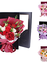 cheap -Artificial Flower Real touch Modern Contemporary Bouquet Tabletop Flower Bouquet 1