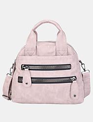 cheap -women multi-pocket handbags waterproof crossbody leather bag