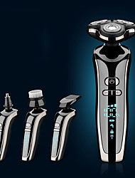 cheap -Electric Shaver Rechargeable Smart Digital Display Multi-function Razor Washing Beard Artifact