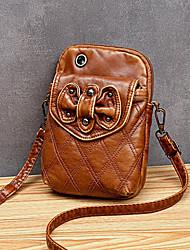 cheap -women vintage soft leather shoulder bag crossbody bag