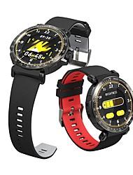 cheap -WAZA Full Screen Touch Dymanic UI Display Heart Rate Blood Pressure Oxygen Monitor Weather Push Smart Watch