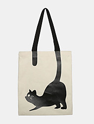 cheap -women crossbody bag cat pattern handbag