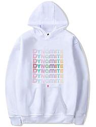 cheap -women's kpop bts con capucha hoodie bangtan boys love yourself jimin suga sweatshirt tops(m casual white)