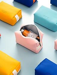 cheap -Cosmetic Bag Mesh Makeup Bag Rope Toiletries Organizer Cosmetics Storage 16.5*7*11.5CM