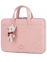 cheap -Unisex Bags PU Leather Top Handle Bag Bear Zipper Handbags Office & Career Blushing Pink Gray