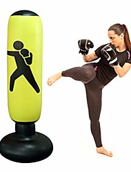 cheap -160 cm Inflatable Punching Bag Free Standing Boxing Punch Bag Sport Stress Relief Boxing Target Heavy Training Fitness Sandbag with Foot Air Pump