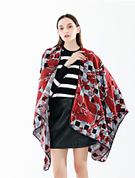 cheap -Sleeveless Coats / Jackets / Shawls Imitation Cashmere Special Occasion / Party / Evening Shawl & Wrap / Women's Wrap With Patterned